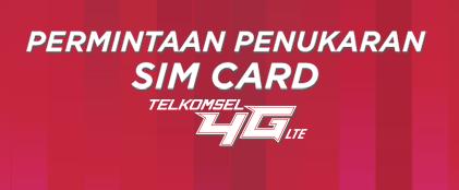 Tukarkan SIM Card Telkomsel Dengan uSIM 4G
