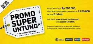Super Untung Indosat Dapat Pulsa Rp. 1.2 juta