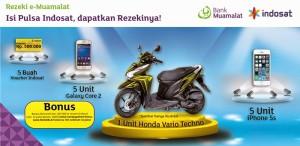 Pulsa dari Indosat Dan Muamalat