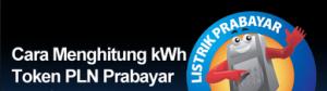 Menghitung Tarif KWh Listrik Prabayar