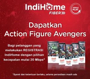 Action Figure Avengers IndiHome